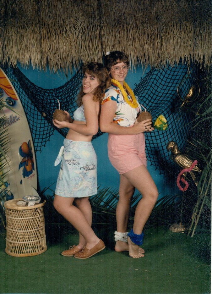 The annual Hawaiian Luau was my favorite.
